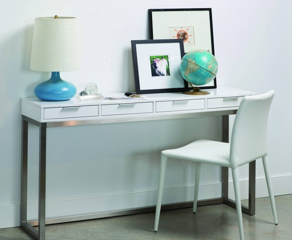 Beautiful And Useful White Sofa Table | Babytimeexpo Furniture within Sofa Table Drawers (Image 2 of 30)