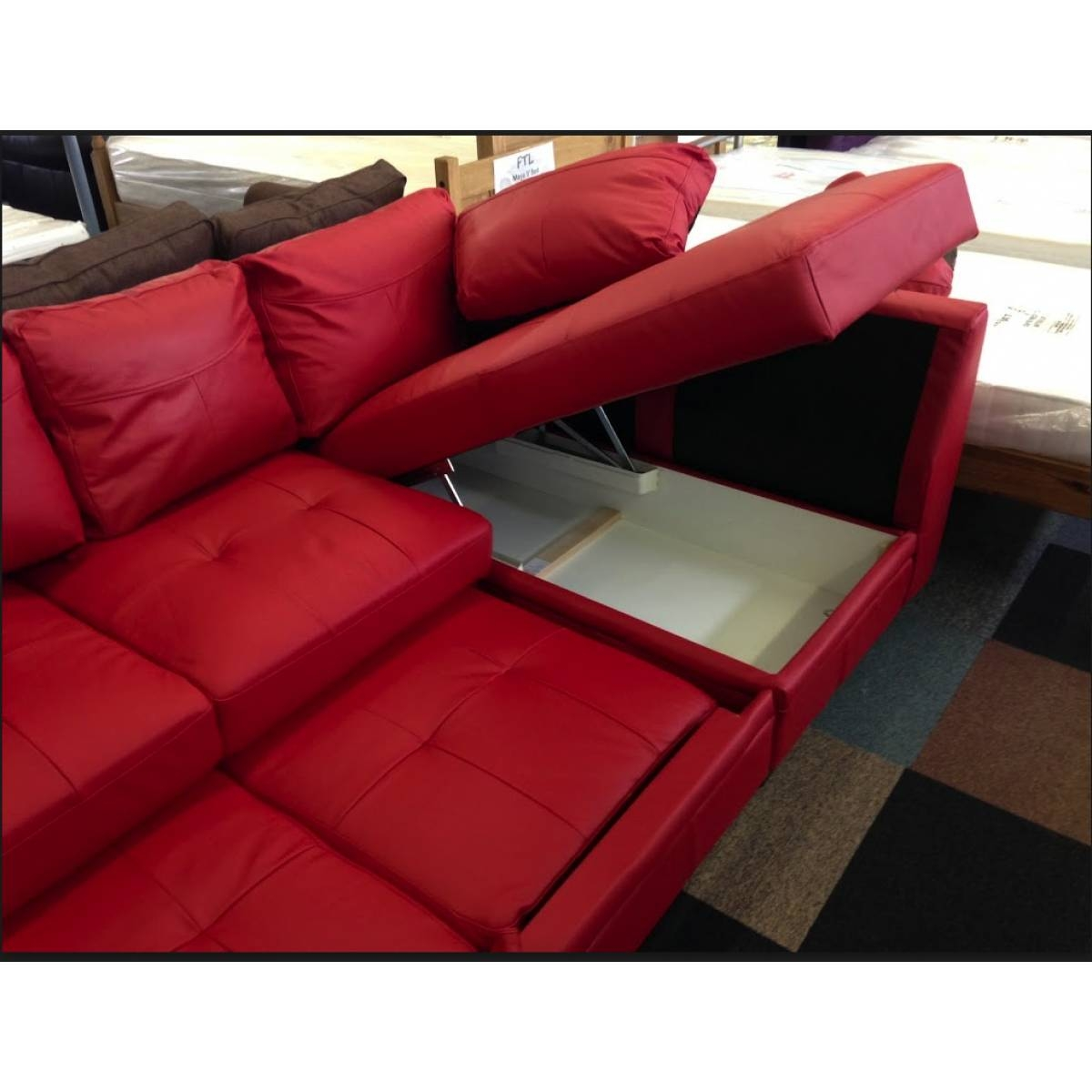 Beautiful Corner Sofa Bed Red Maxresdefault Sofa | Ciov intended for 2X2 Corner Sofas (Image 1 of 30)