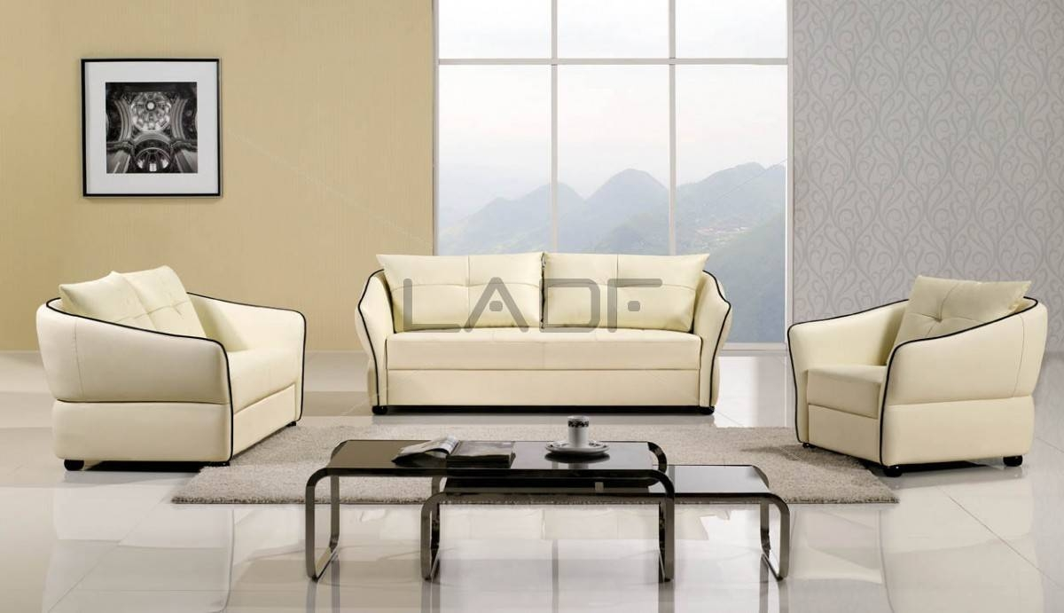 Beautiful Ivory Leather Sofa 93 In Sofa Table Ideas With Ivory with regard to Ivory Leather Sofas (Image 3 of 30)