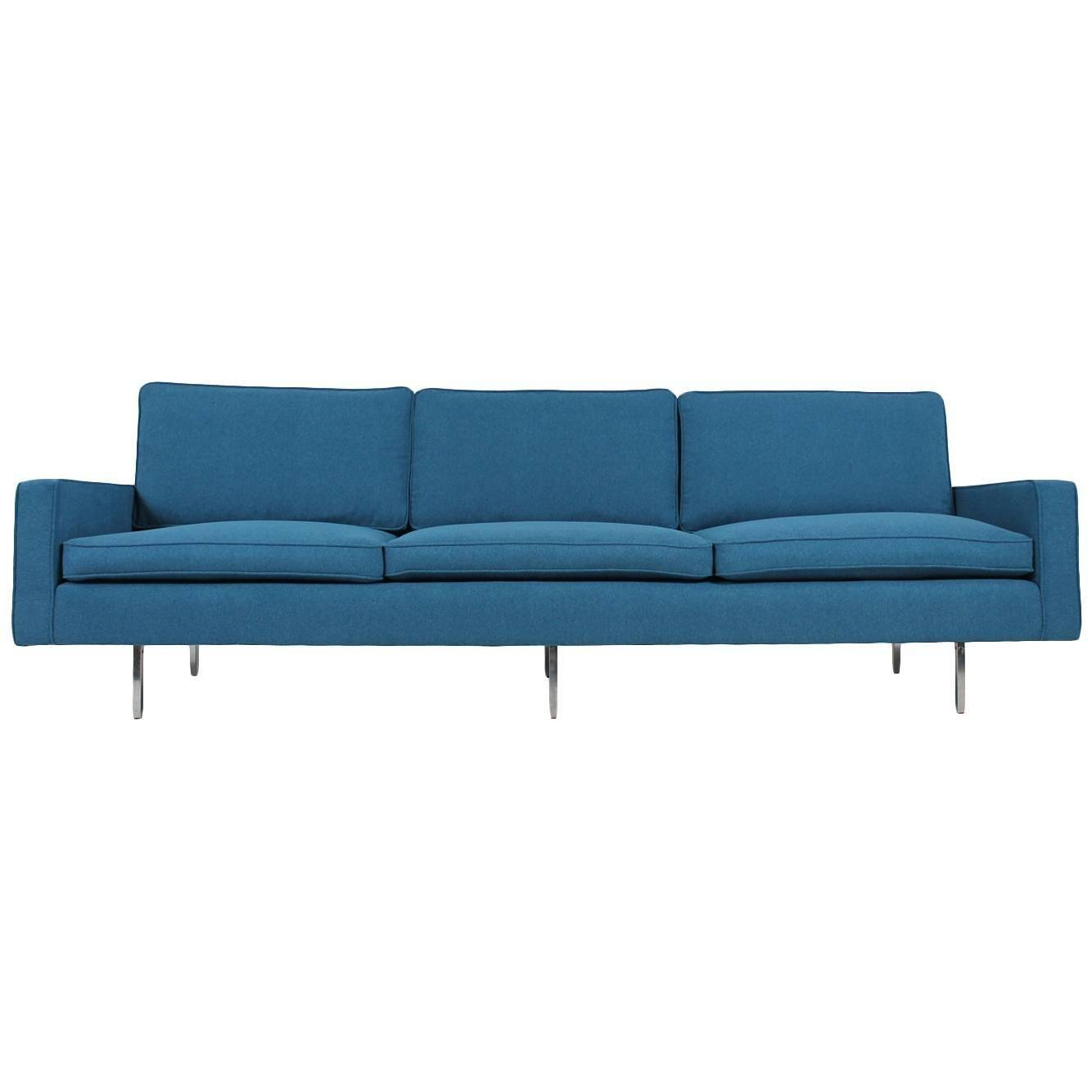 Beautiful Mid-Century Florence Knoll Sofa Mod. 25 Bc Knoll intended for Florence Knoll Wood Legs Sofas (Image 1 of 25)