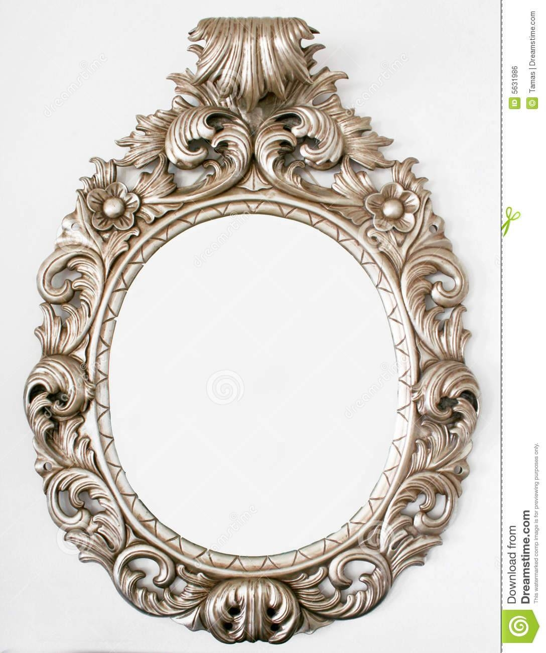 Beautiful Retro Baroque Mirror Royalty Free Stock Image - Image for White Baroque Mirrors (Image 9 of 25)
