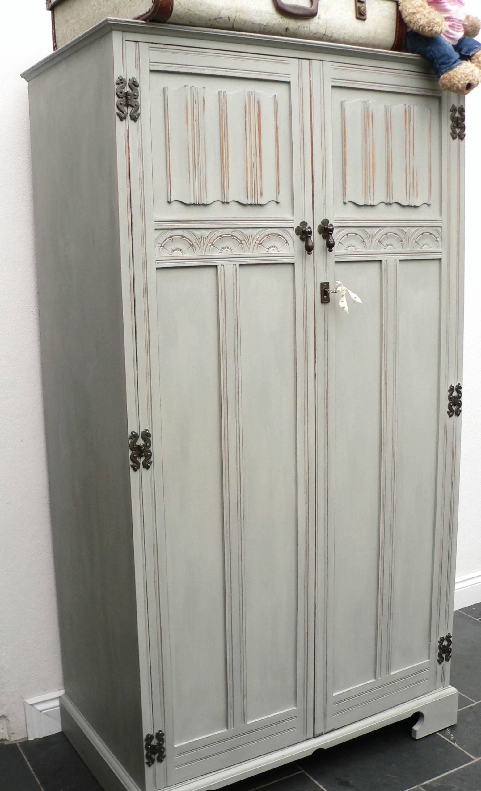 Beautiful Wardrobe – £249.00 (Wd-2) | Pea {Style} pertaining to Vintage Style Wardrobes (Image 3 of 15)
