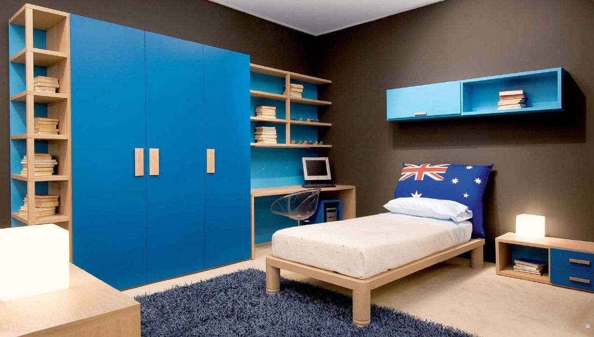 Bed: Childrens Bedroom Wardrobe with regard to Childrens Bedroom Wardrobes (Image 3 of 30)
