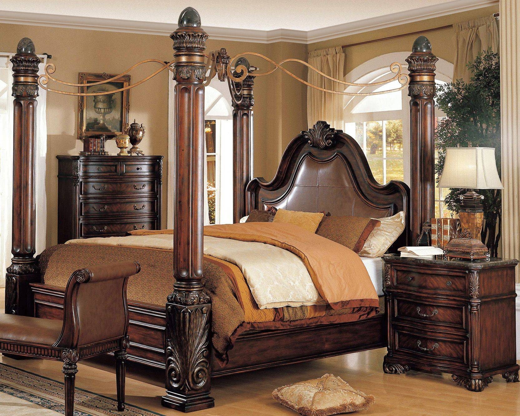 Bed Frames : Canopy Bed Curtains Gothic Style Canopy Bed King within Gothic Style Mirrors (Image 13 of 25)
