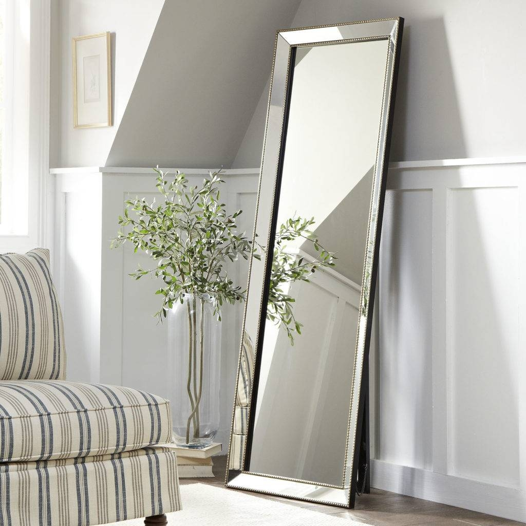 Bedroom: Appealing Oversized Mirrors For Home Decoration Ideas for Vintage Full Length Mirrors (Image 10 of 25)