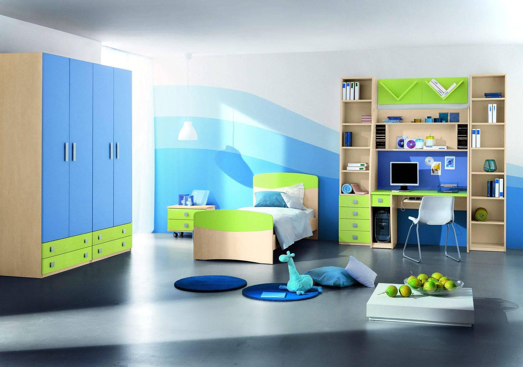 Bedroom : Bedroom Pictures Childrens Designs Kids Child Room Blue intended for Childrens Bedroom Wardrobes (Image 6 of 30)