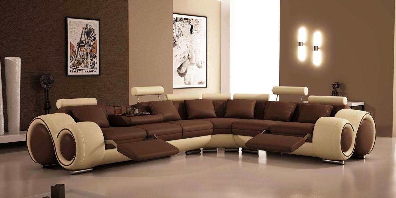 Bedroom: Comfortable Brown Sectional Sofa With Ethan Allen with regard to Comfortable Sectional Sofa (Image 7 of 30)