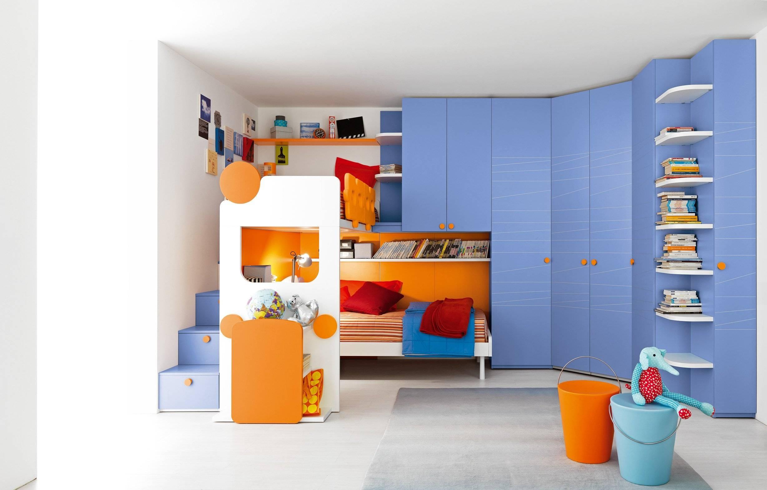 Bedroom : Cool Boys Bedroom Lights Modern Bed Furniture Lighting inside Childrens Bedroom Wardrobes (Image 8 of 30)