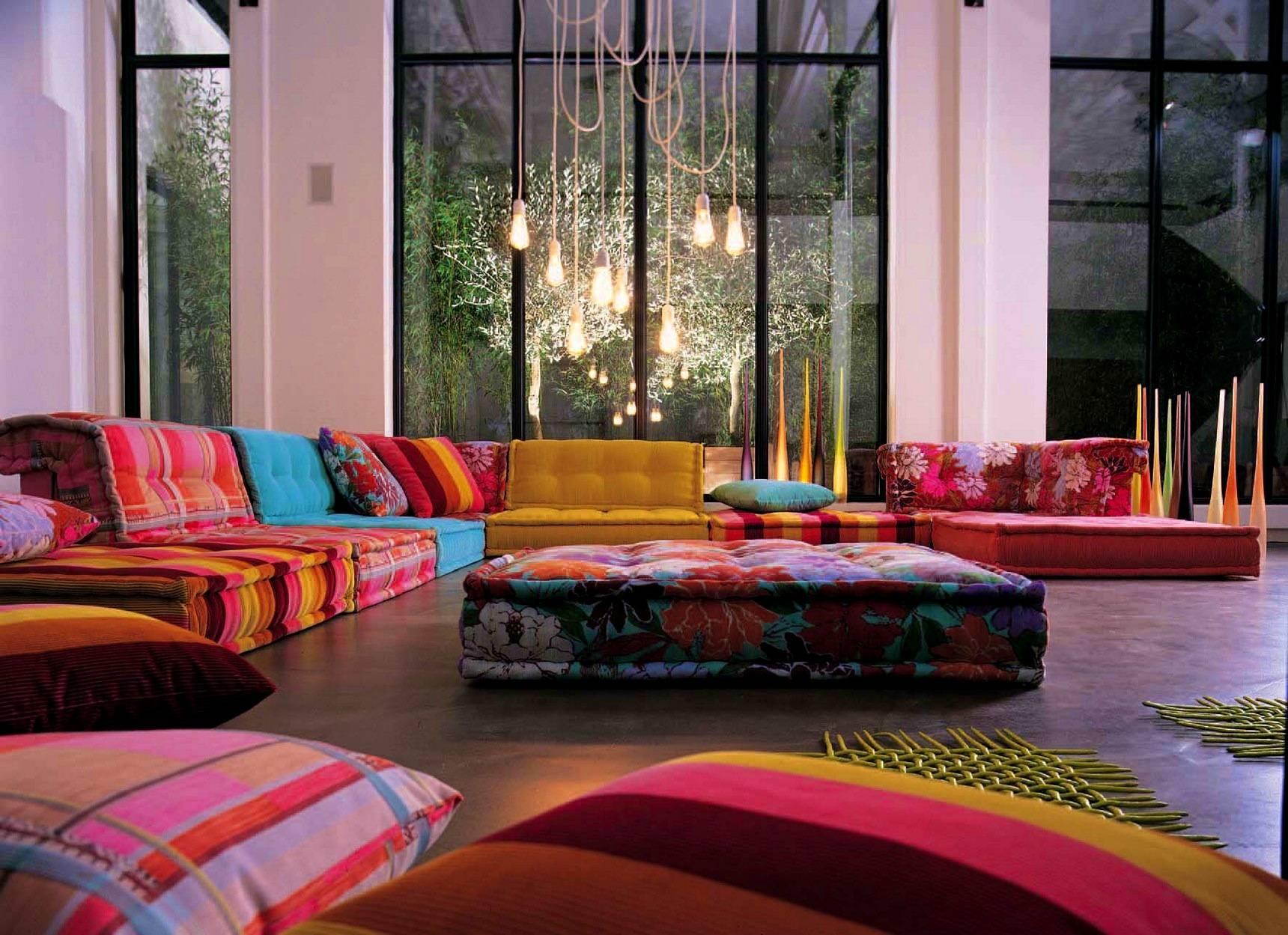 Bedroom : Delightful Floor Couch Cushions Throw Pillow Sofa inside Floor Couch Cushions (Image 3 of 30)