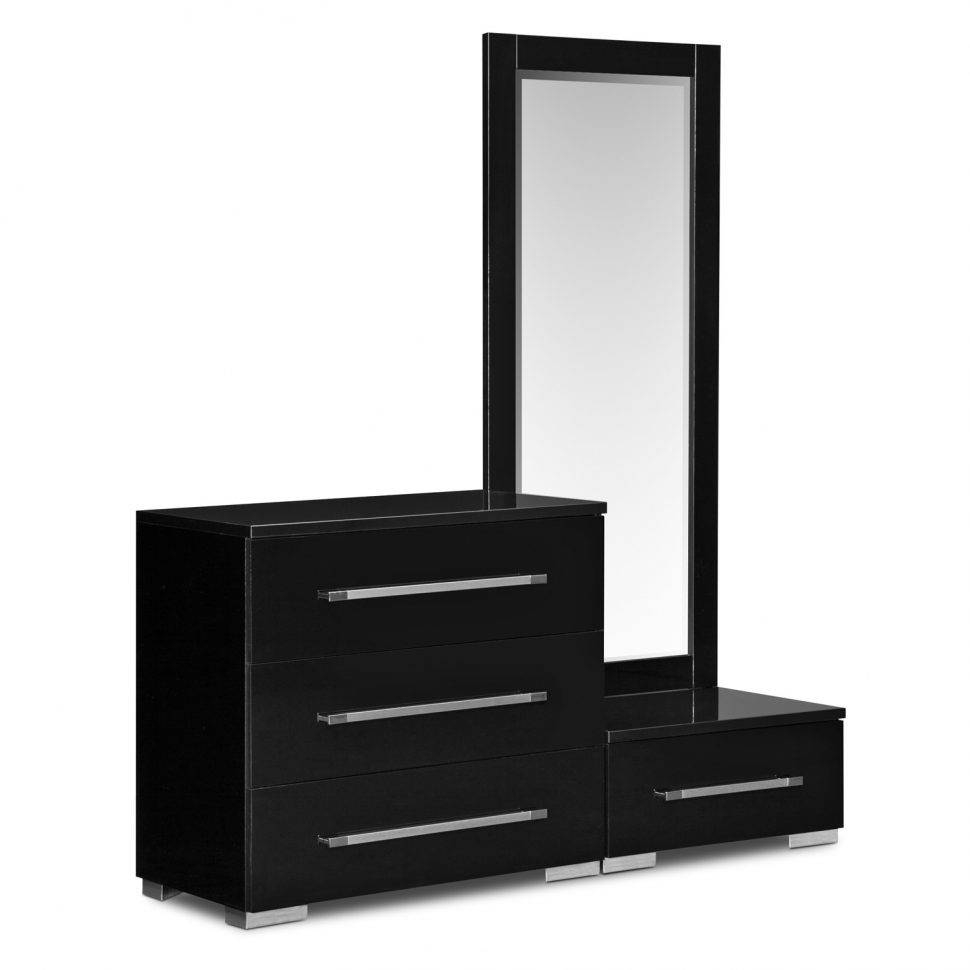 Bedroom : Design Furniture Masculine Black Dressing Tables Mirror regarding Contemporary Dressing Table Mirrors (Image 1 of 25)