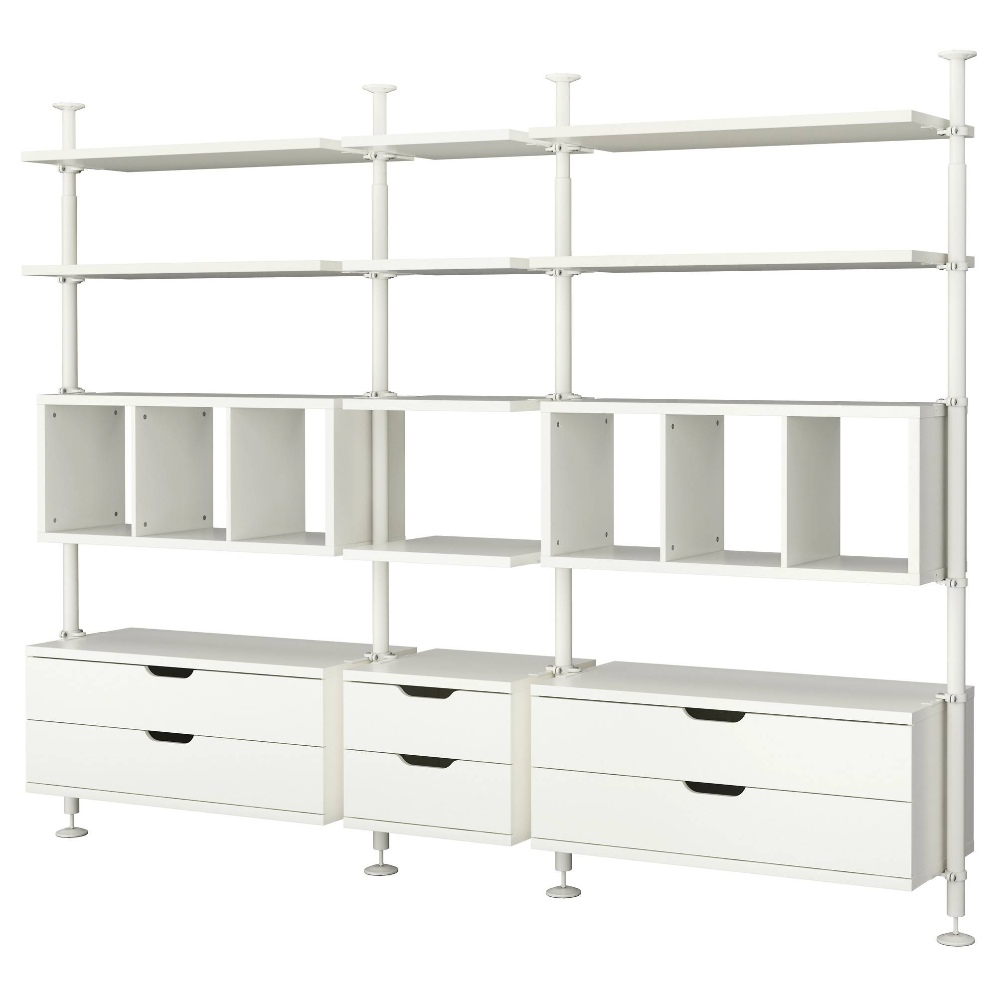 Bedroom Design: Wonderful Closet Organizers Ikea In White Made Of intended for Wardrobe Drawers And Shelves Ikea (Image 3 of 30)