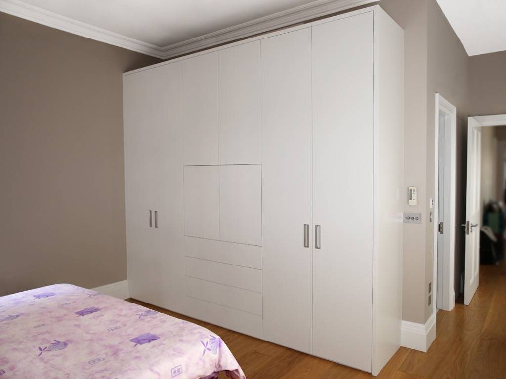 Bedroom : Fitted Mirrored Wardrobes Made To Measure Sliding throughout Fitted Wooden Wardrobes (Image 7 of 30)