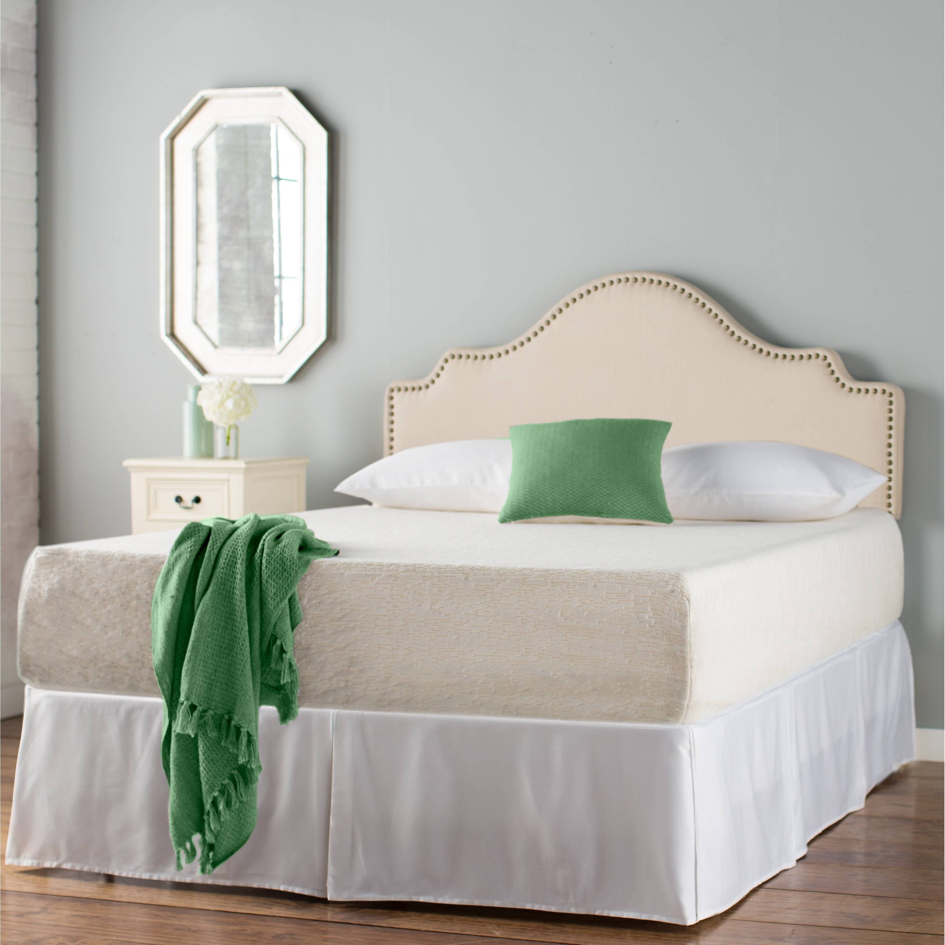 Bedroom: Framed Almunium Wall Mirror Cream Contemporary Leather inside Cream Wall Mirrors (Image 7 of 25)