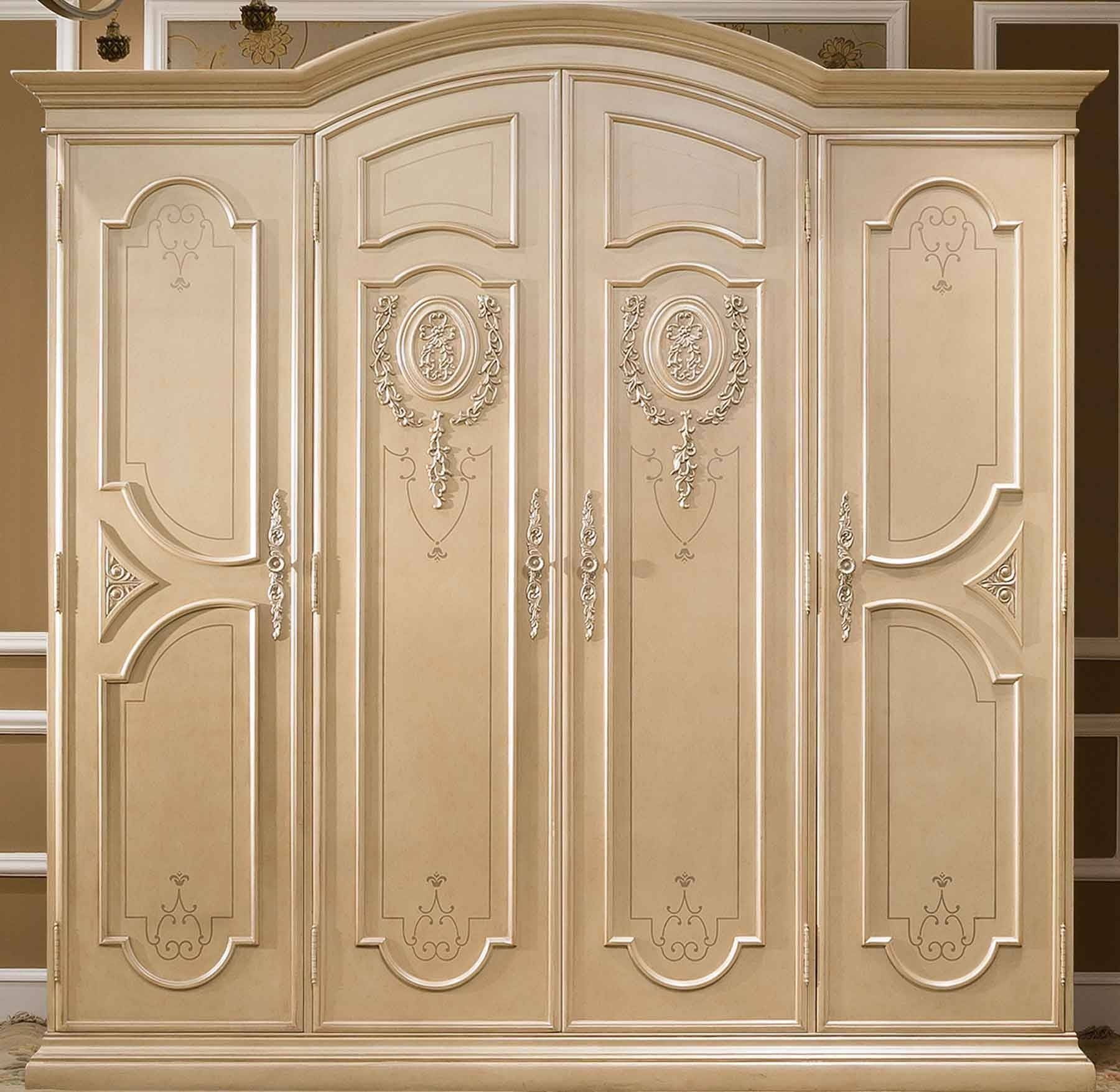 Bedroom Furniture : Beautiful Wooden Carved Wardrobe Victorian throughout Ornate Wardrobes (Image 1 of 15)