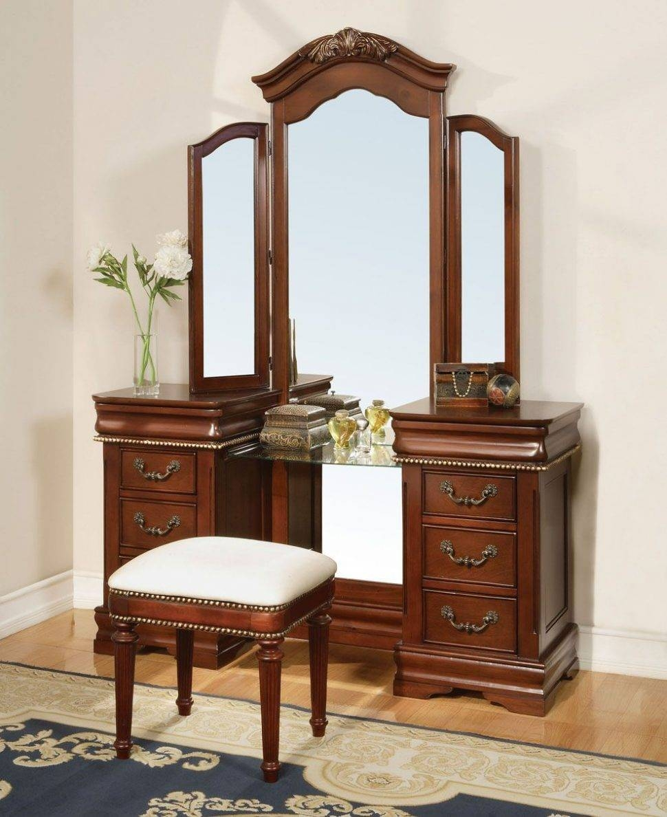 Bedroom Furniture : Dressing Table Diy Small Table Mirror Table with Decorative Dressing Table Mirrors (Image 3 of 25)
