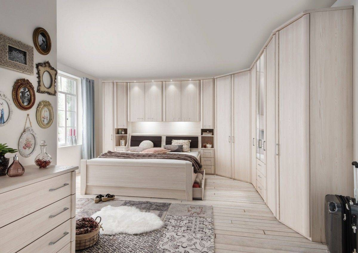 Bedroom Furniture : Floor Bed Ideas Above The Bed Decor Wardrobes pertaining to Wardrobes Above Bed (Image 5 of 15)
