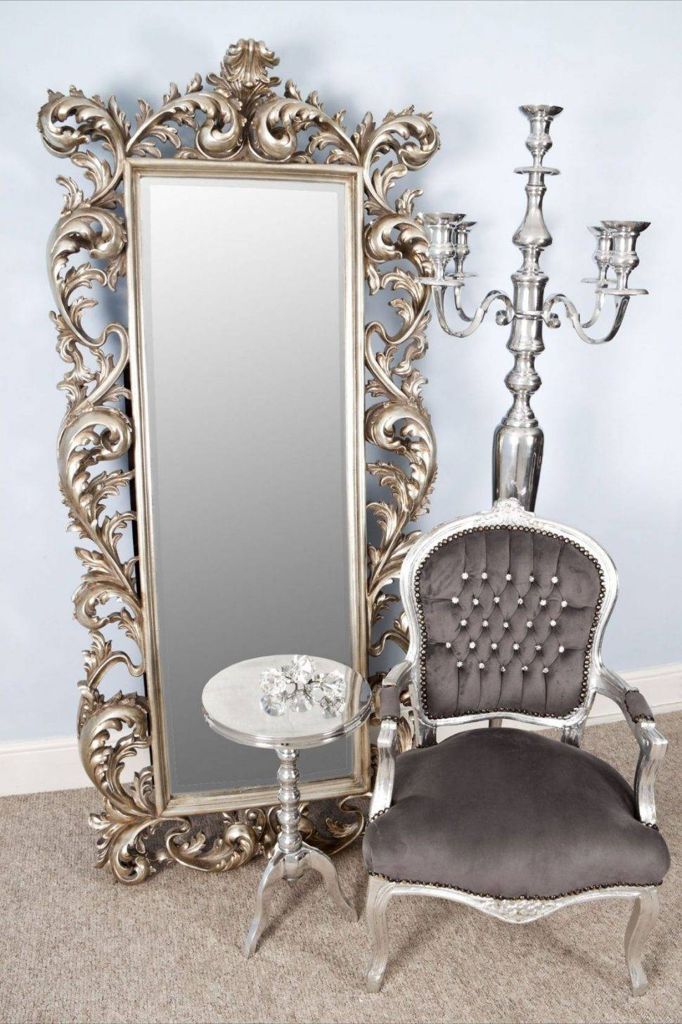 Bedroom Furniture : Free Standing Mirror Wood Framed Mirrors regarding Small Free Standing Mirrors (Image 5 of 25)
