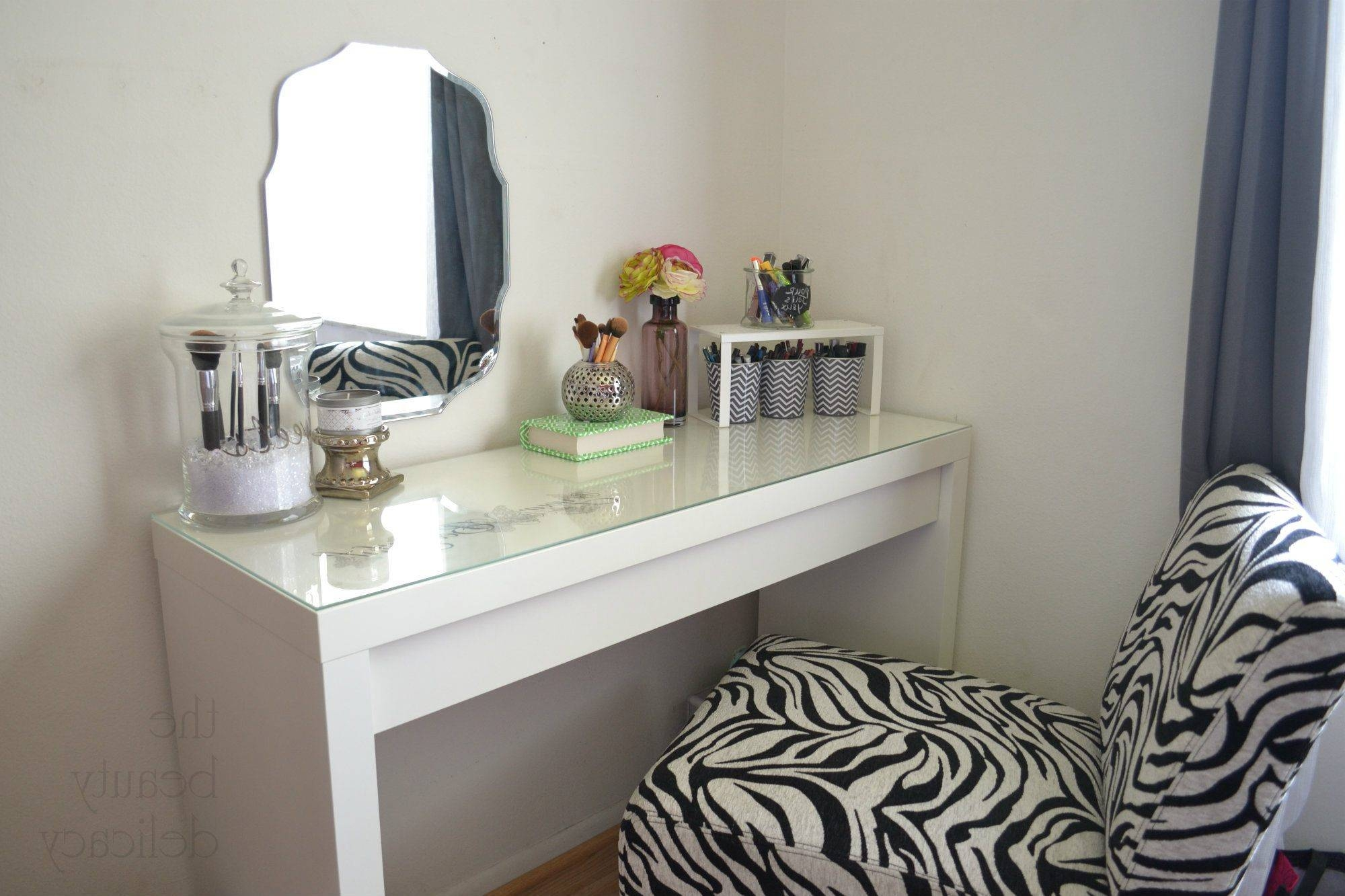 Bedroom Furniture : Girl Makeup Table Table Vanity Set Wall regarding Decorative Dressing Table Mirrors (Image 4 of 25)
