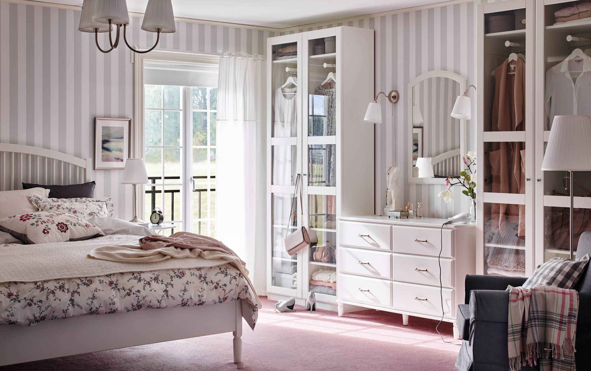 Bedroom Furniture & Ideas | Ikea for Bedroom Wardrobes (Image 3 of 15)