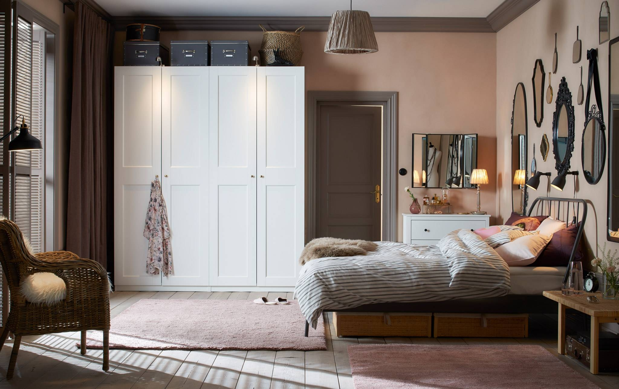 Bedroom Furniture & Ideas | Ikea for Bedroom Wardrobes (Image 2 of 15)