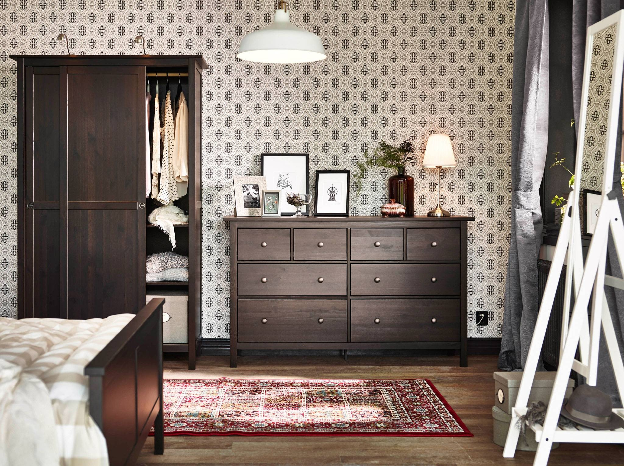 Bedroom Furniture & Ideas | Ikea inside Cheap Wardrobes and Chest of Drawers (Image 3 of 15)