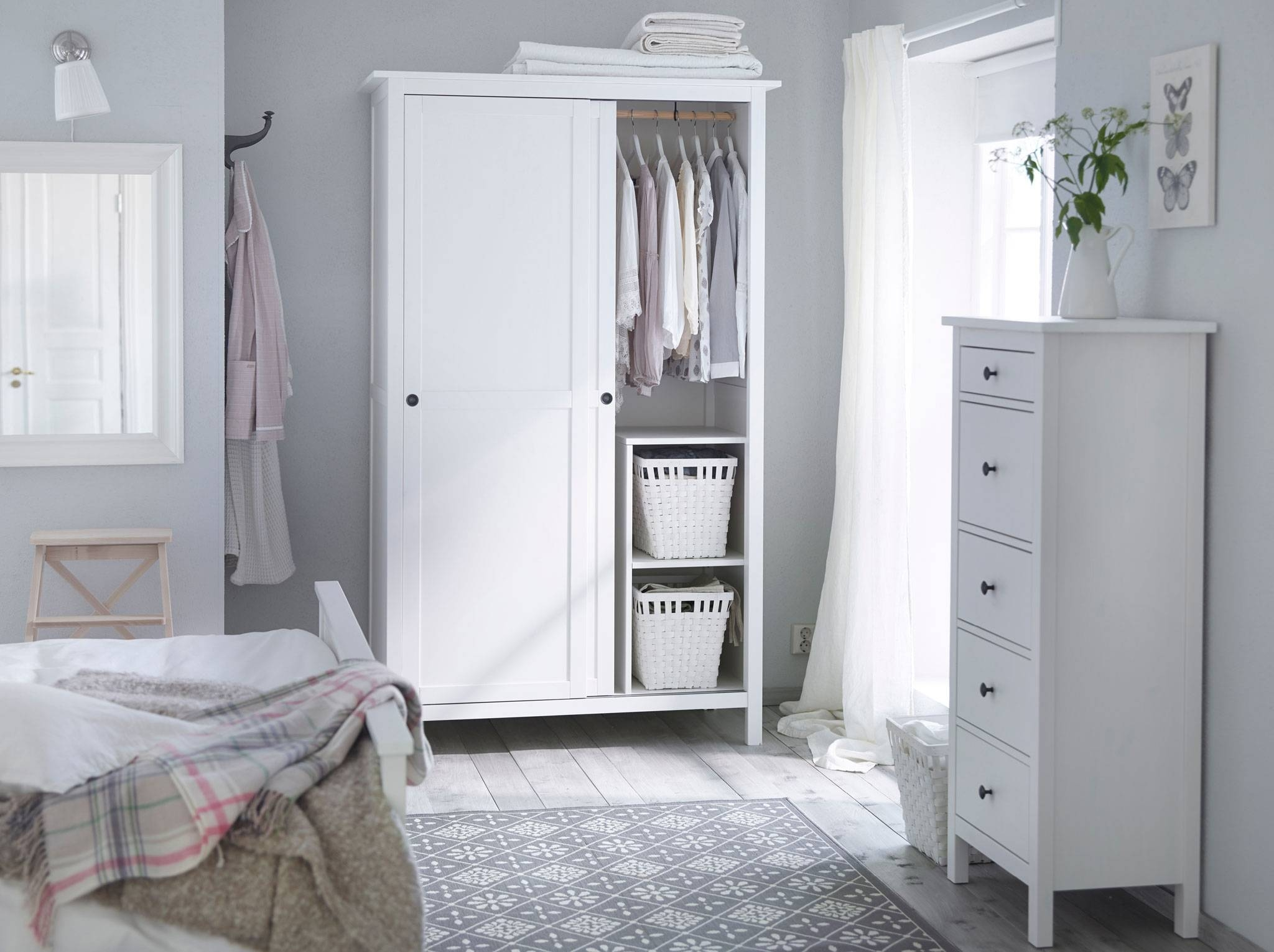 Bedroom Furniture & Ideas | Ikea inside Cheap Wardrobes And Chest Of Drawers (Image 2 of 15)