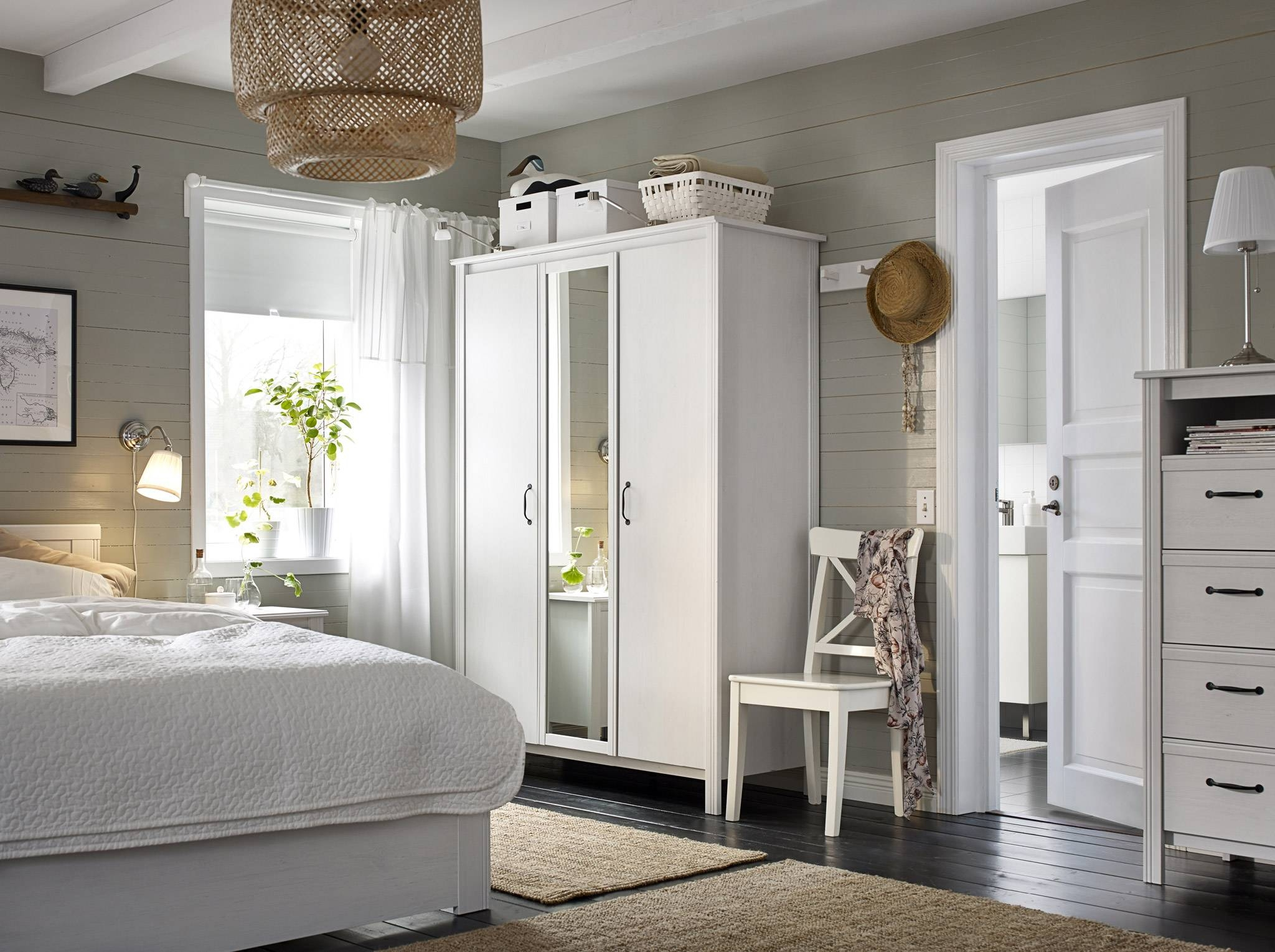 Bedroom Furniture & Ideas | Ikea regarding Wardrobes and Drawers Combo (Image 5 of 15)