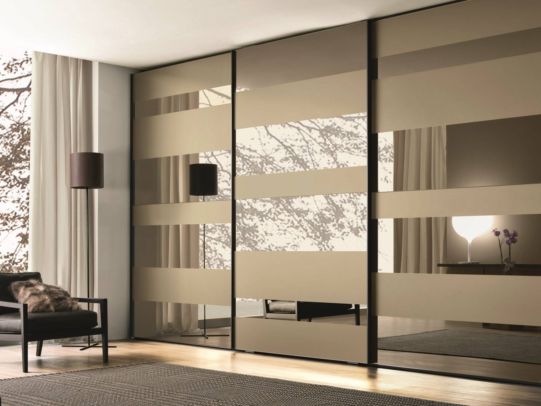 Bedroom Furniture : Modern Wardrobe Closet Wooden Almirah Designs Pertaining To Solid Wood Built In Wardrobes (View 13 of 30)