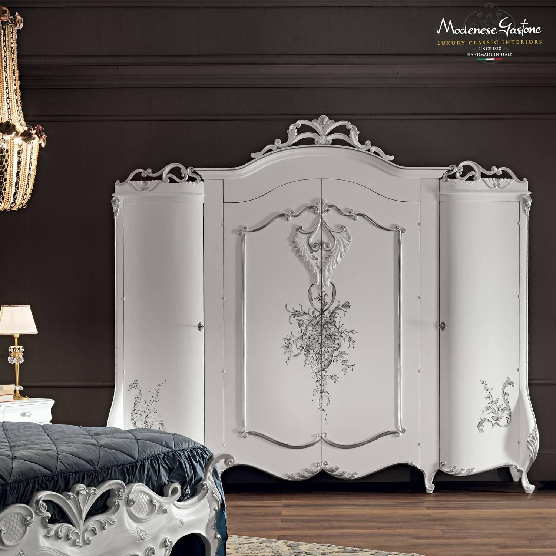 Bedroom Furniture : Oak Wardrobes Uk Antique White Armoire White throughout Antique White Wardrobes (Image 4 of 15)