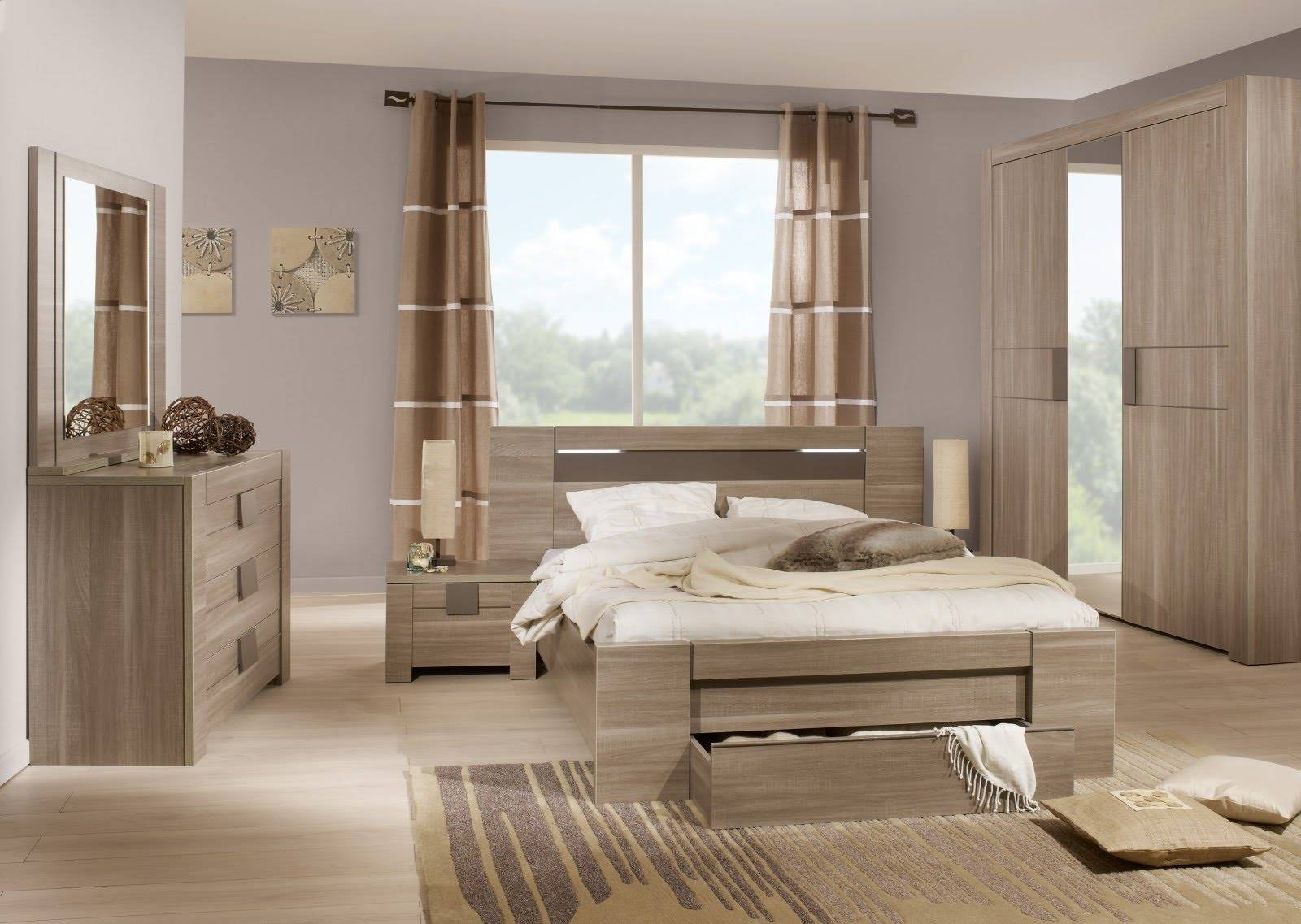 Bedroom Furniture Sets Sliding Door Wardrobes - Home Pleasant inside Wardrobes Sets (Image 5 of 15)
