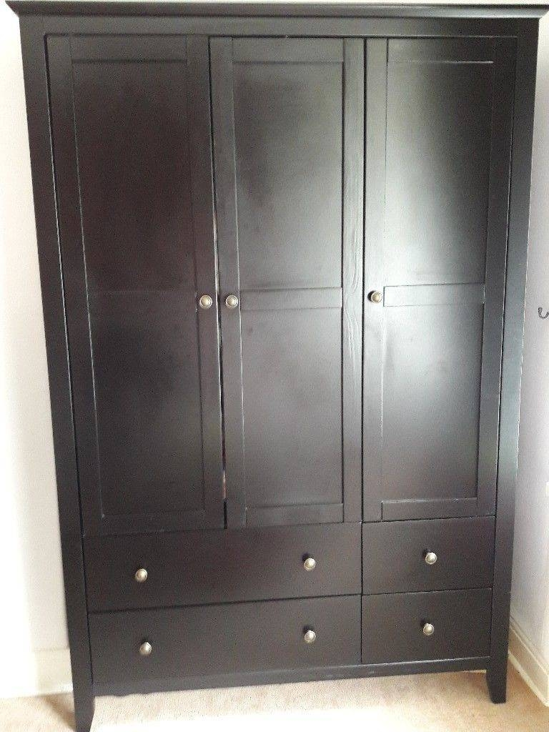 Bedroom Furniture Suite. Triple & Double Wardrobes, Chest Of regarding Double Wardrobes (Image 2 of 15)