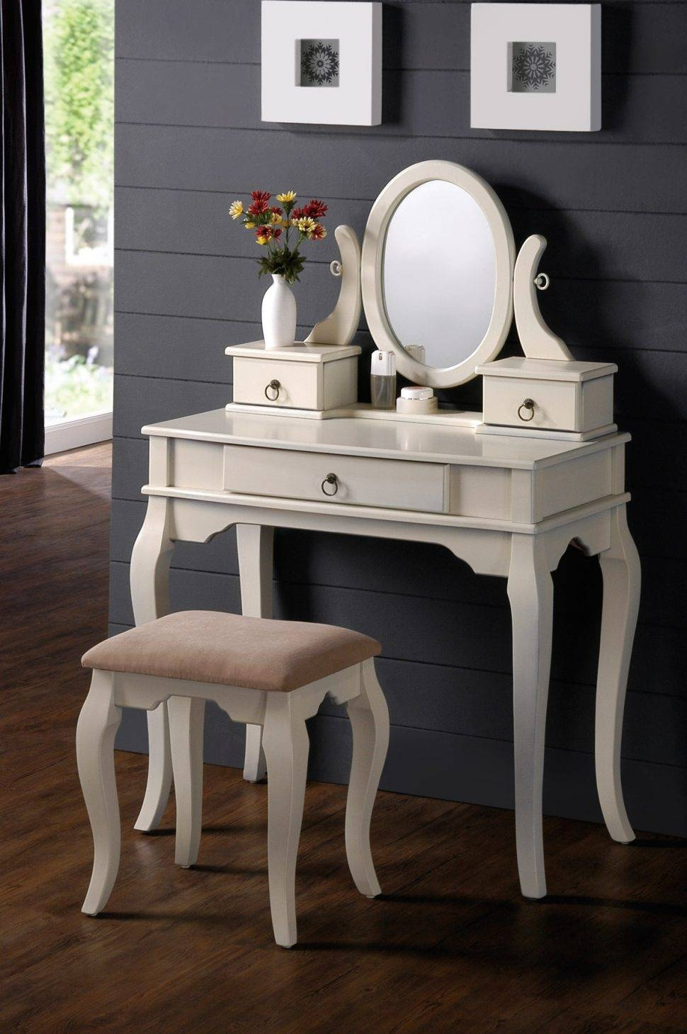 Bedroom Furniture : Wall Mirrors Decorative Black Dressing Table Throughout Black Dressing Mirrors (View 5 of 25)