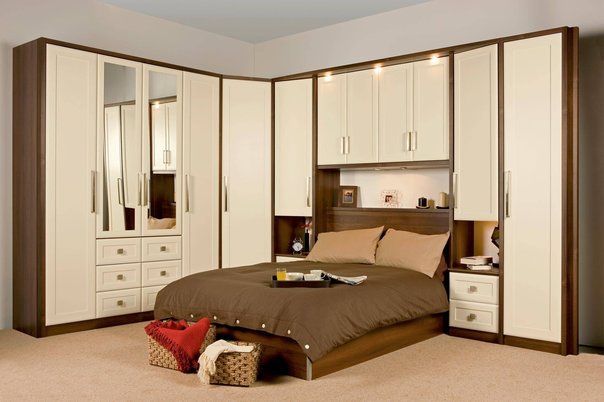 Bedroom Furniture Wardrobes ~ Piazzesi with regard to Over Bed Wardrobes Sets (Image 8 of 15)