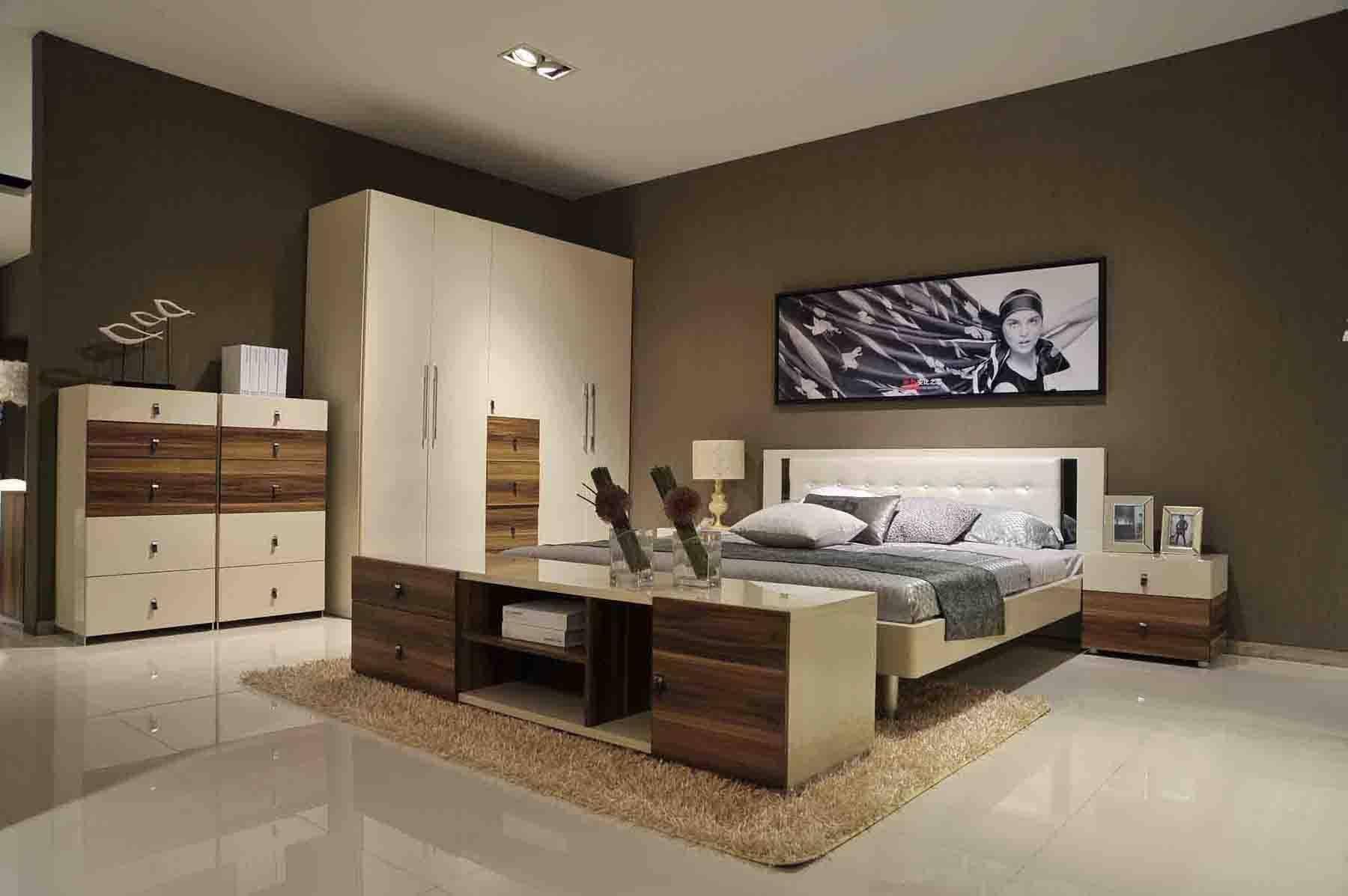 Bedroom : Impressive Home Bedroom Sets Modern Bedrooms in Dark Wood Wardrobe Sets (Image 8 of 30)