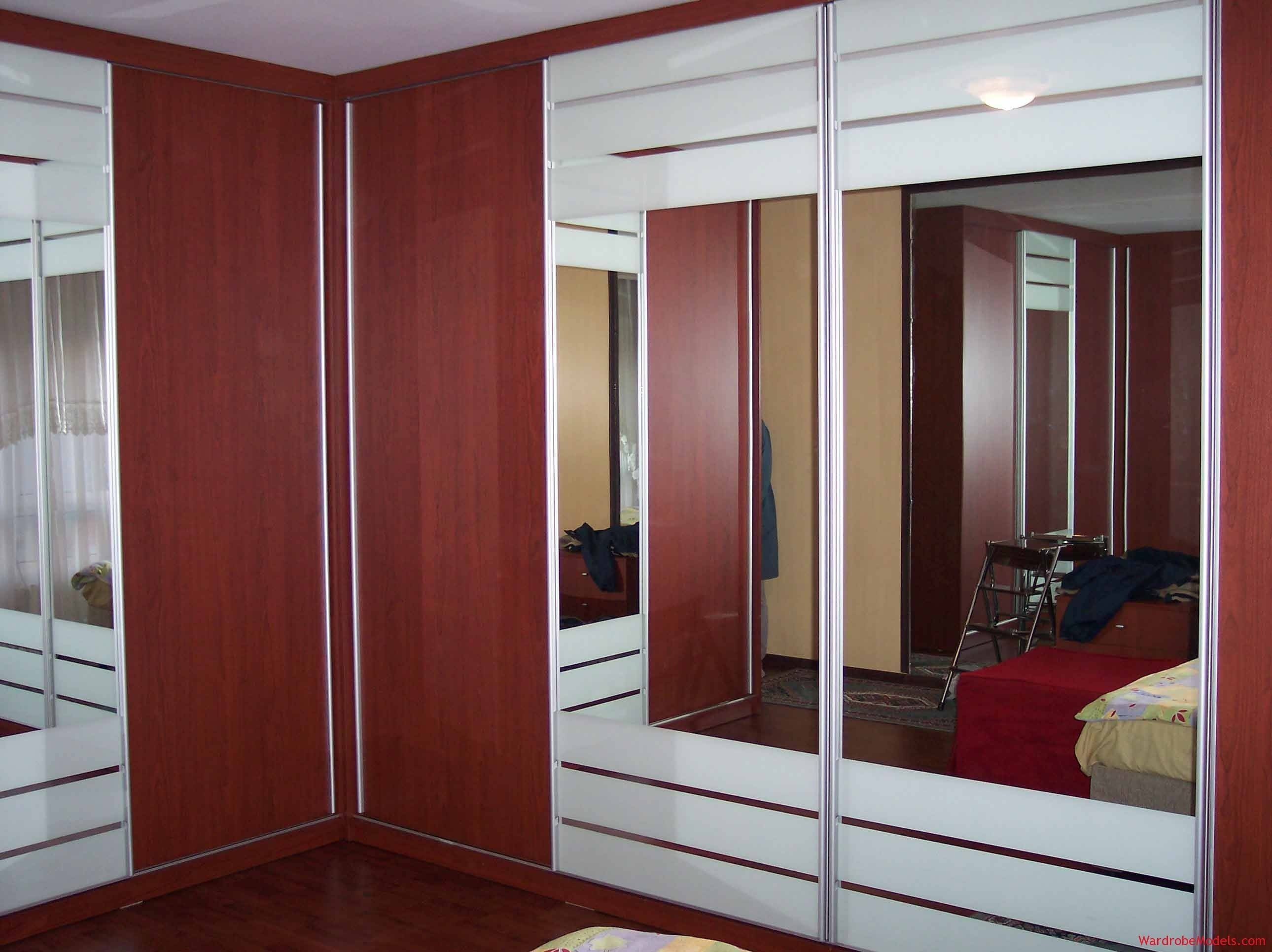 Bedroom : New Intimating Modern Closet Style Tool Escorted pertaining to Dark Wood Wardrobe Sliding Doors (Image 6 of 30)