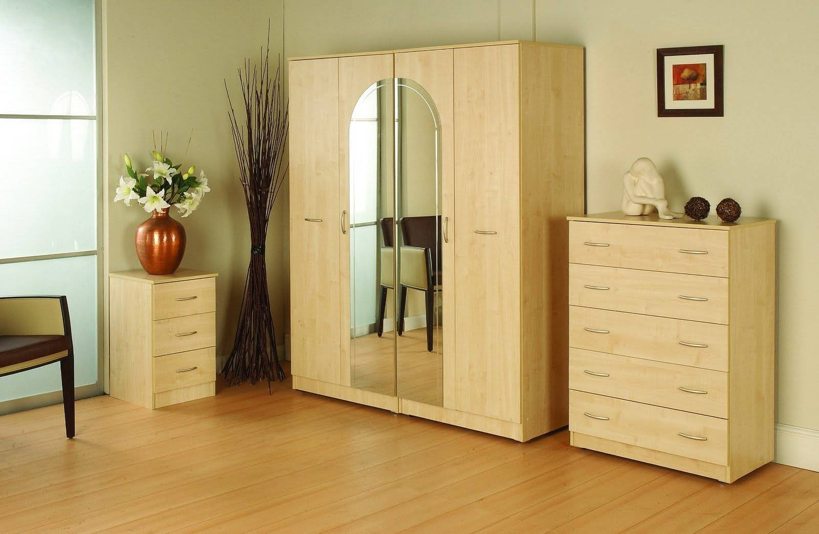 Bedroom Set With Wardrobe Closet | Carpetcleaningvirginia pertaining to Wardrobes Sets (Image 6 of 15)