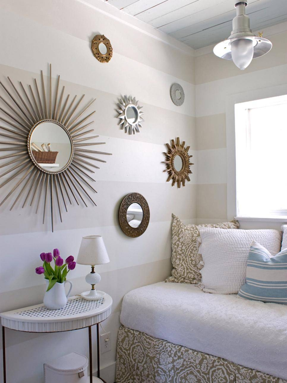 Bedroom Small Decorative Wall Mirrors : Small Decorative Wall Within Small Decorative Mirrors (View 4 of 25)