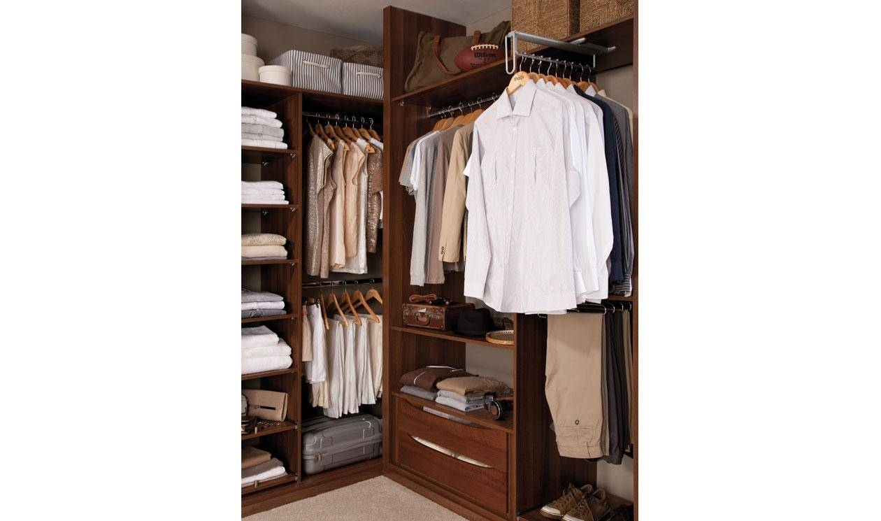 Bedroom Storage Solutions - Sharps Bedrooms Limited intended for Double Rail Wardrobe With Drawers (Image 6 of 30)
