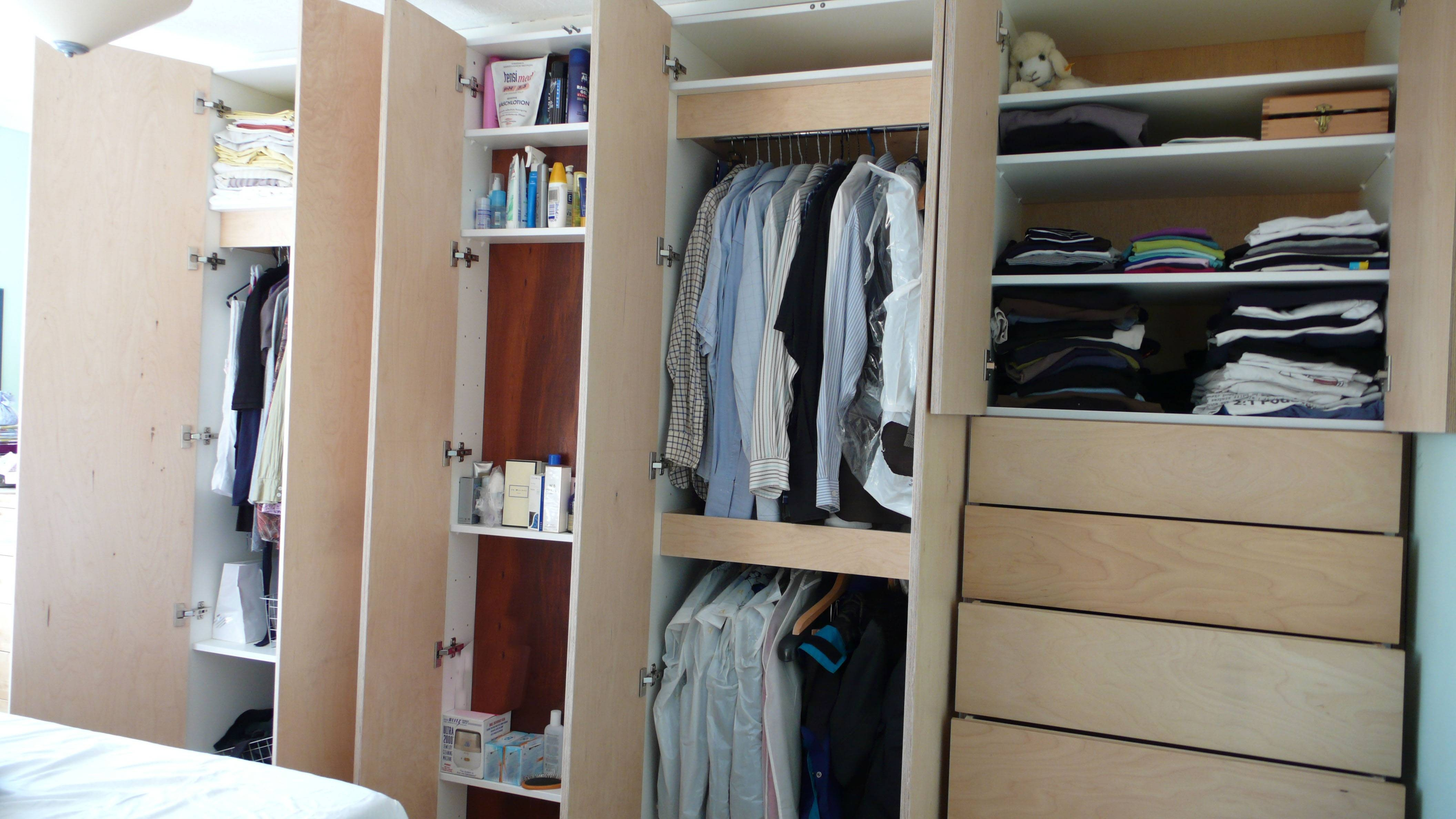 Bedroom Wardrobe Built Around Chimney Breast | Diy Wardrobes inside Bedroom Wardrobes (Image 4 of 15)
