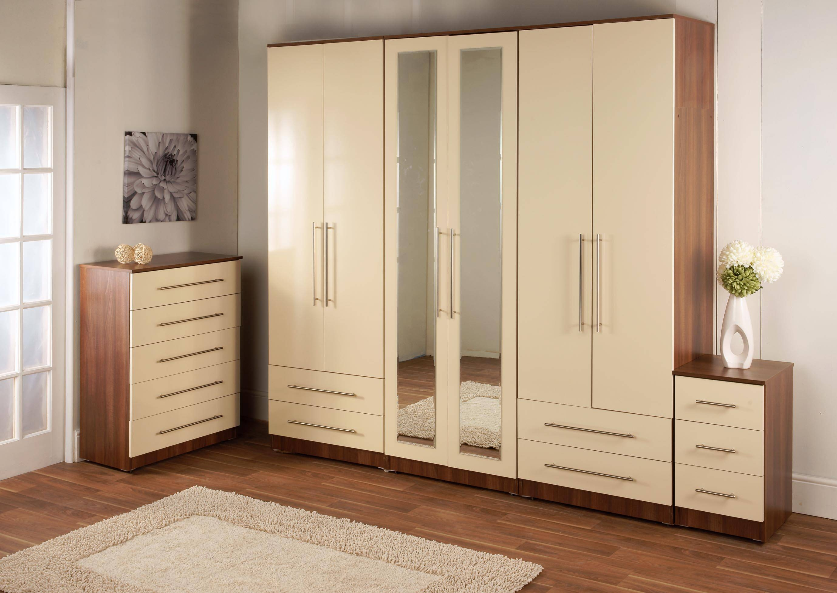Bedroom Wardrobes regarding Cheap Wardrobes Sets (Image 3 of 15)