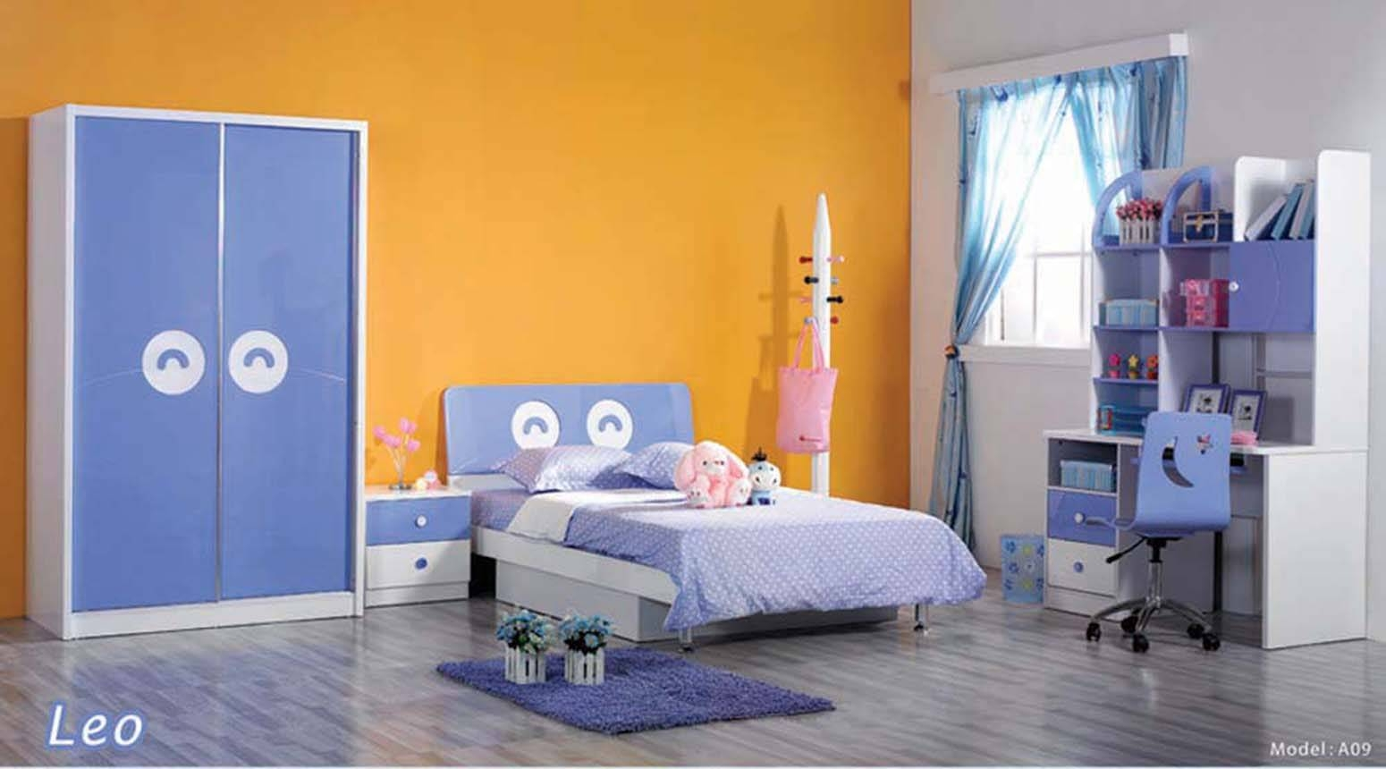 Bedroom: Wooden Wardrobe And Also Cabinet With Combination Of with Bed and Wardrobes Combination (Image 8 of 15)
