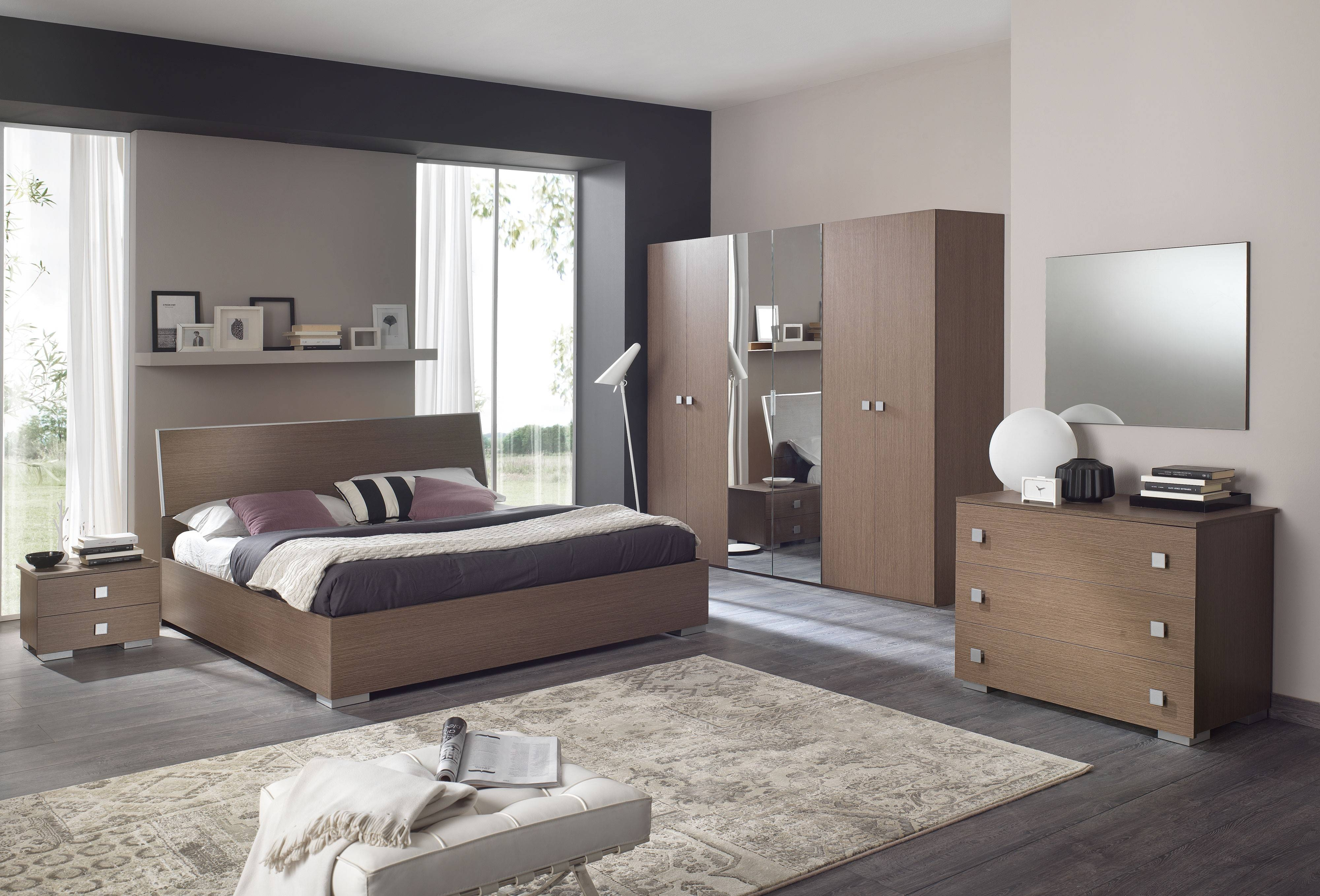 Bedrooms ~ Awesome Wardrobes With Mirror Designs Latest Beds with regard to Dark Wood Wardrobe Sets (Image 21 of 30)