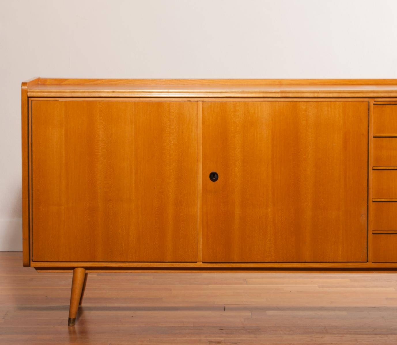 Beech Sideboard, 1950S For Sale At Pamono for Beech Sideboards (Image 2 of 30)