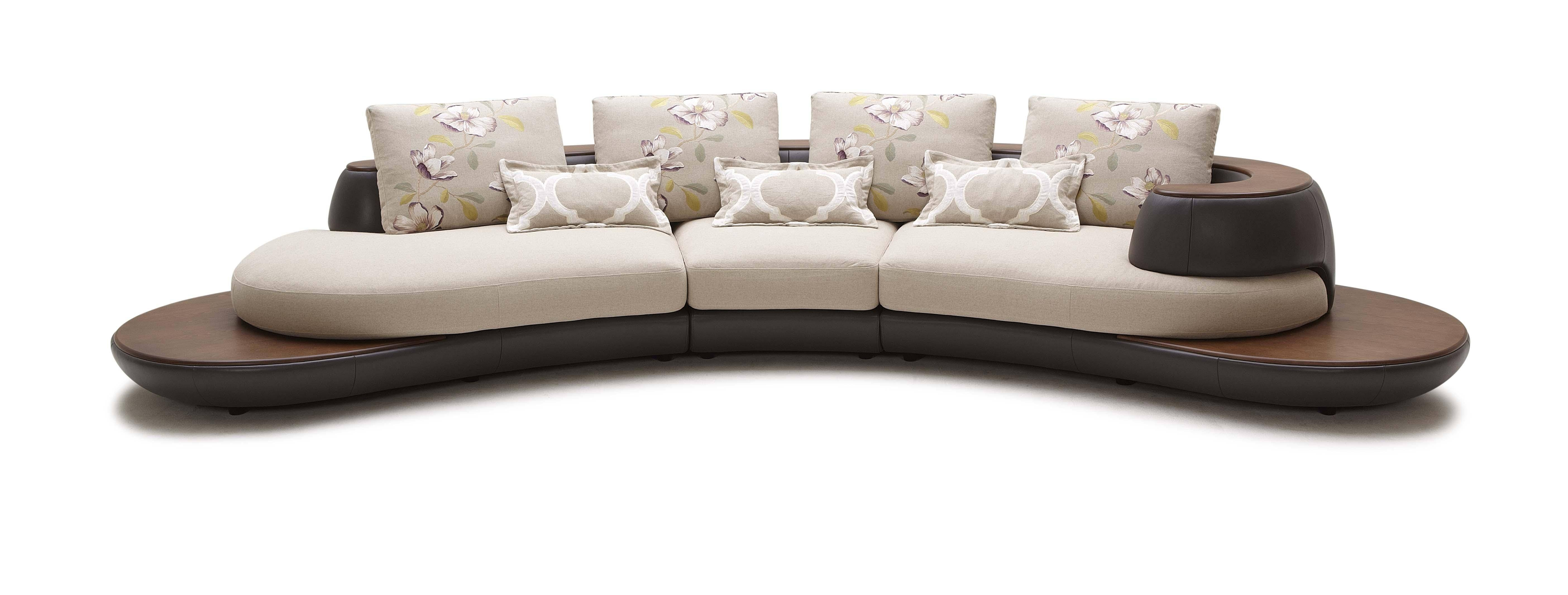 30 Best Contemporary Curved Sofas