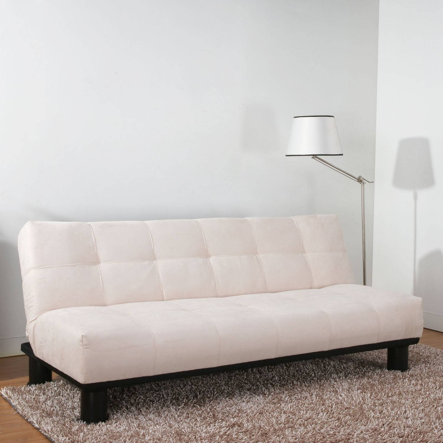 Bella Beige Faux Suede Sofa Bed 1Jpg, Suede Sofa - Avworld in Faux Suede Sofa Bed (Image 2 of 25)