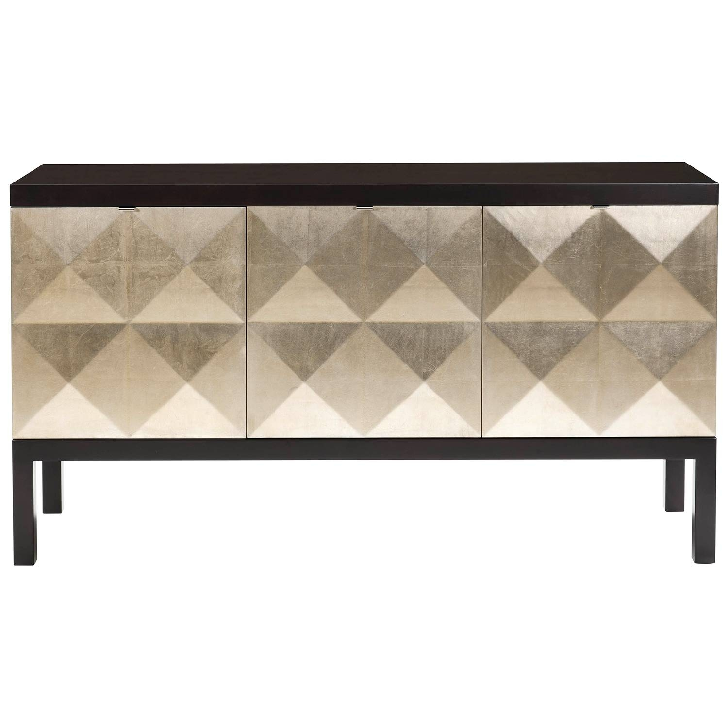Belle Meade Signature Kipling Sideboard @zinc_Door | Dinner Party inside Black And Silver Sideboards (Image 4 of 30)