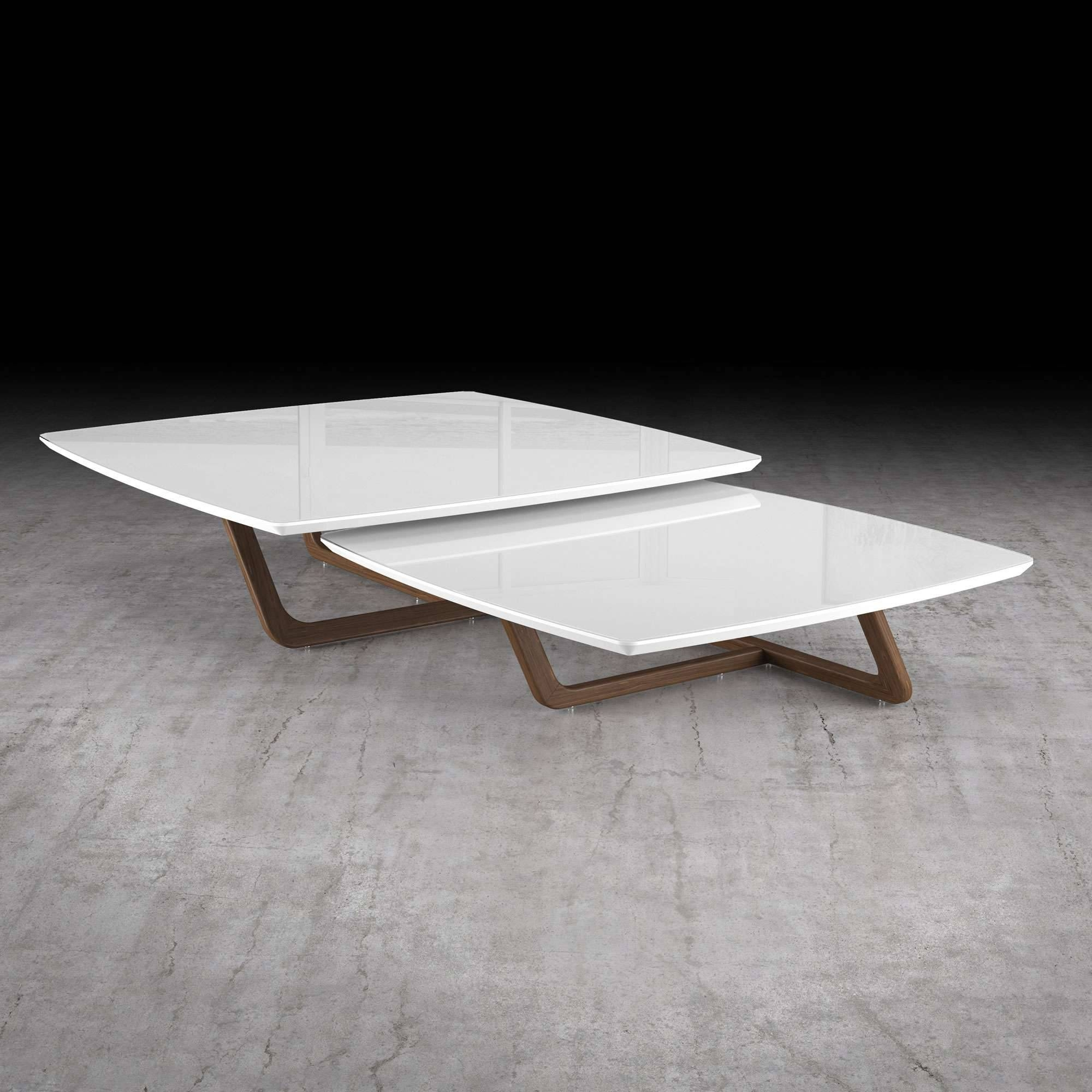 Belvedere 2 Piece Nested Coffee Table Setmodloft | Yliving in 2 Piece Coffee Table Sets (Image 5 of 30)
