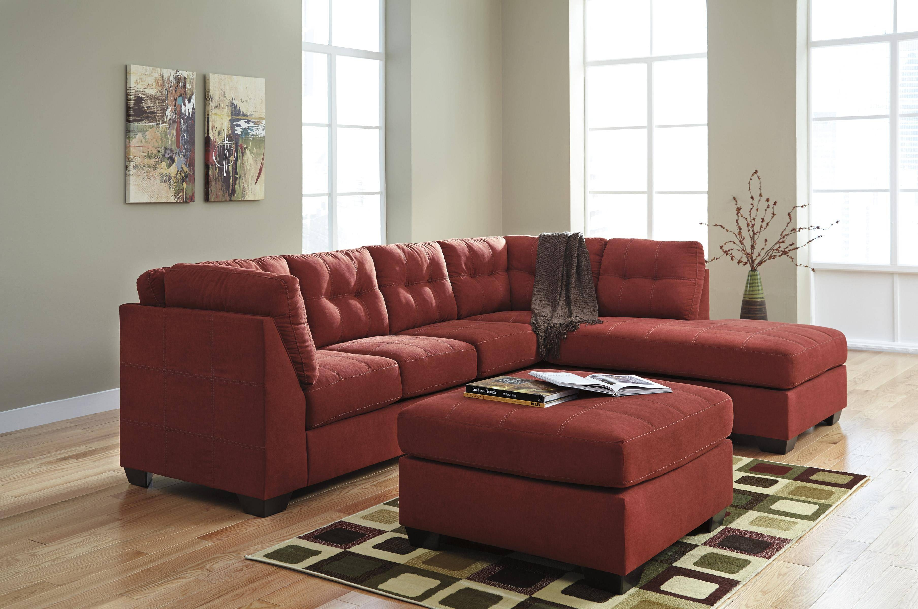 Benchcraft Maier - Sienna 2-Piece Sectional W/ Sleeper Sofa with regard to Sectional Sofas With Sleeper and Chaise (Image 5 of 30)