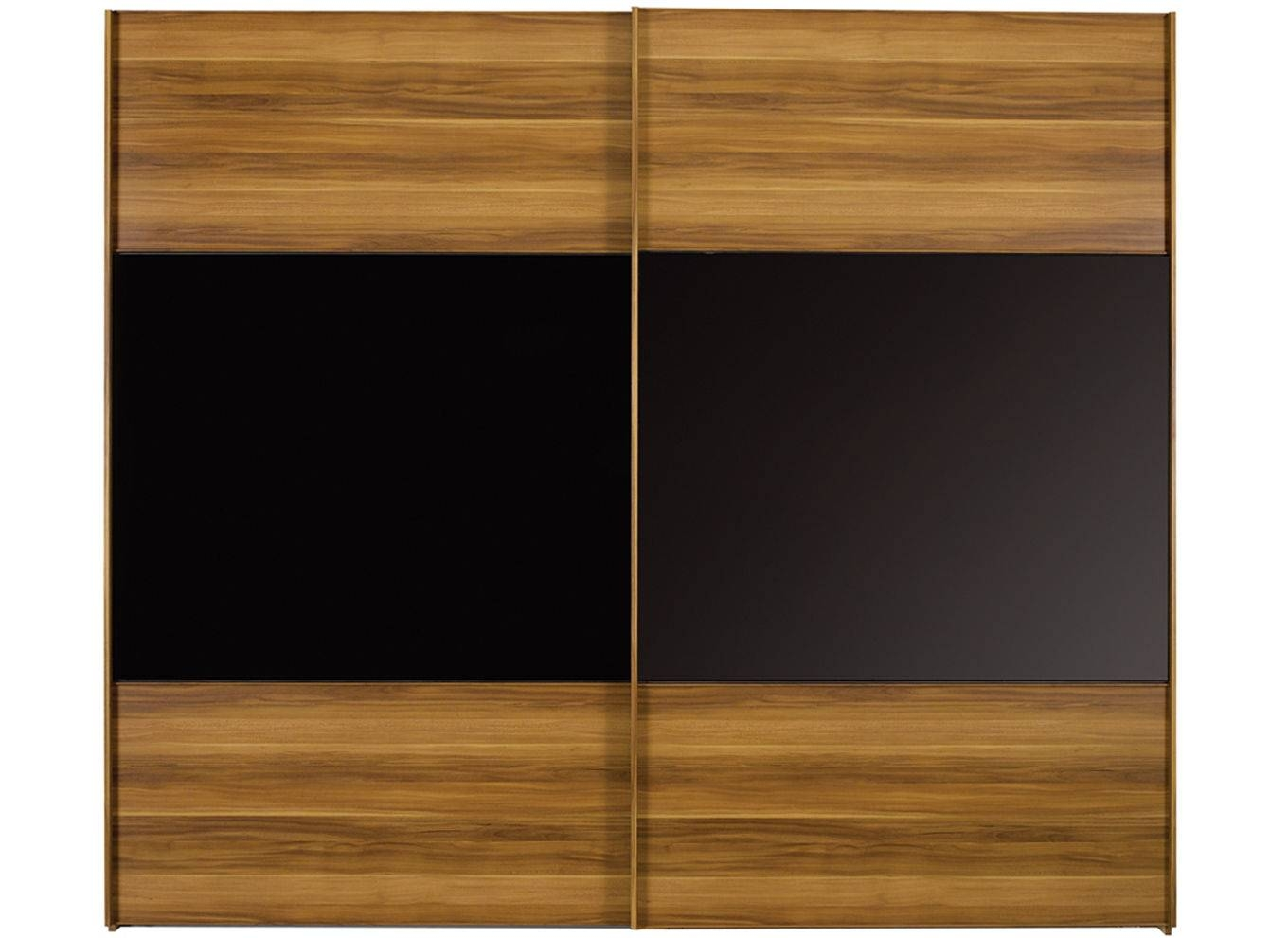 Berkeley Black Sliding Wardrobe - Extra Large with 2 Sliding Door Wardrobes (Image 2 of 15)