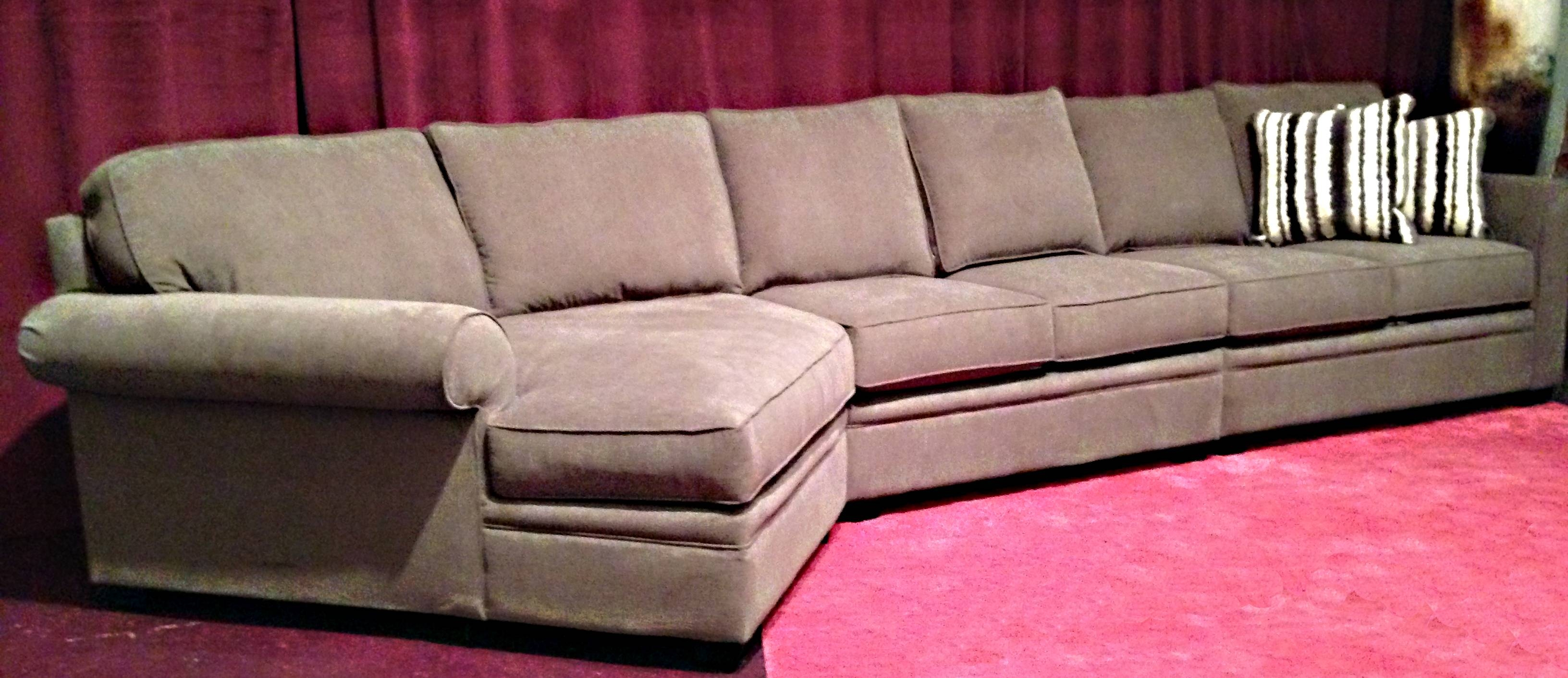 Berkley Sectional (Customized Extra Long Sofa Plus Cuddler in Cuddler Sectional Sofa (Image 3 of 30)